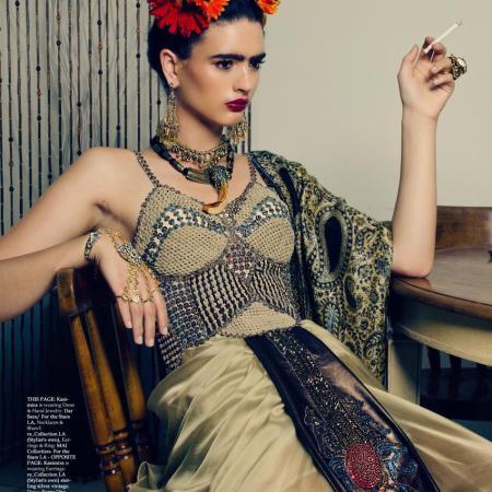 Kasimira Miller for MOD magazine March April 2014