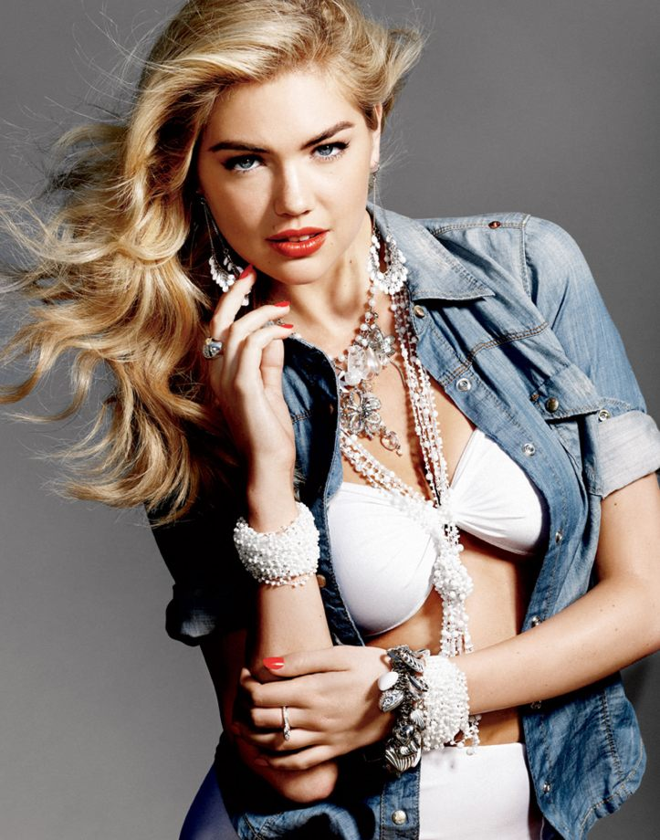Kate Upton for Guess Accessories Ad Campaign Spring-Summer 2011