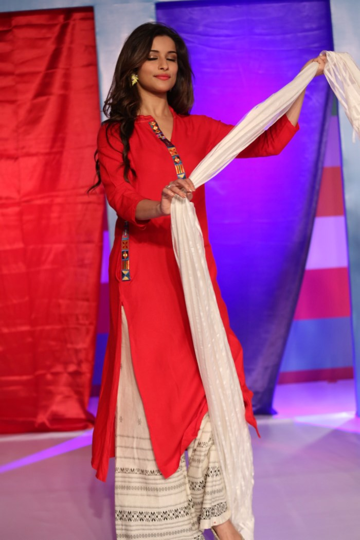 Madhurima Banerjee for FBB Dusshera Collection Launch