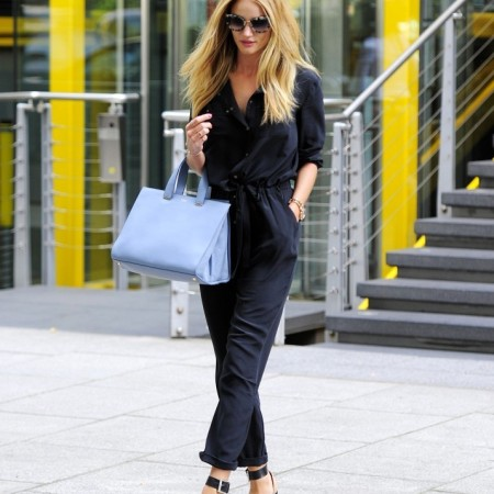 Rosie Huntington-Whiteley - out in London on August 21 2013