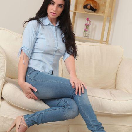 Selena Montanez for Only Tease photo-shoot