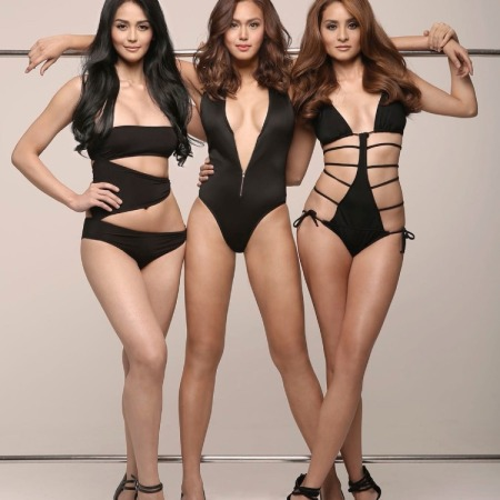 Cindy Miranda, Dani Castano, Queenie Rehman for FHM Philippines- October 2015