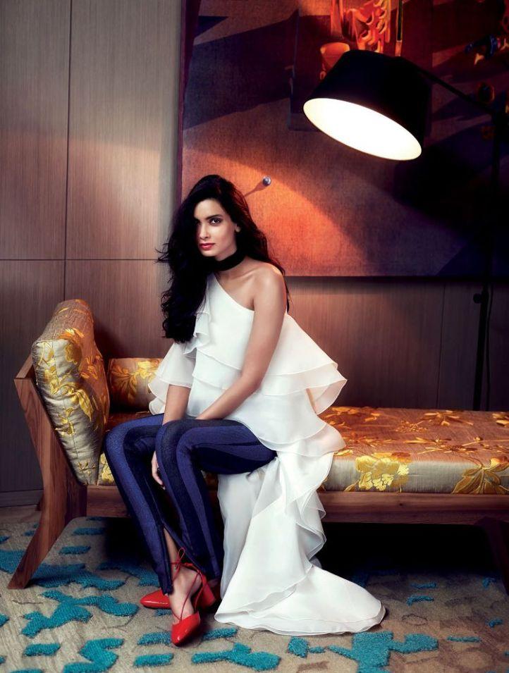 Diana Penty for Elle India-June 2016