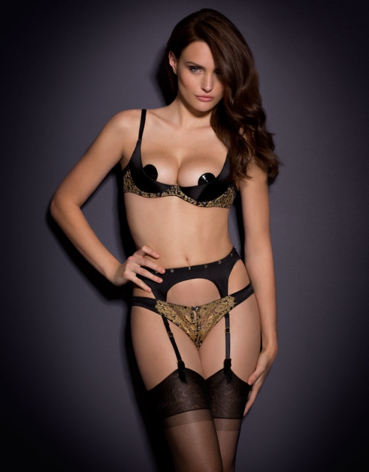 Elena Muller for Agent Provocateur Soiree 2015 (1)