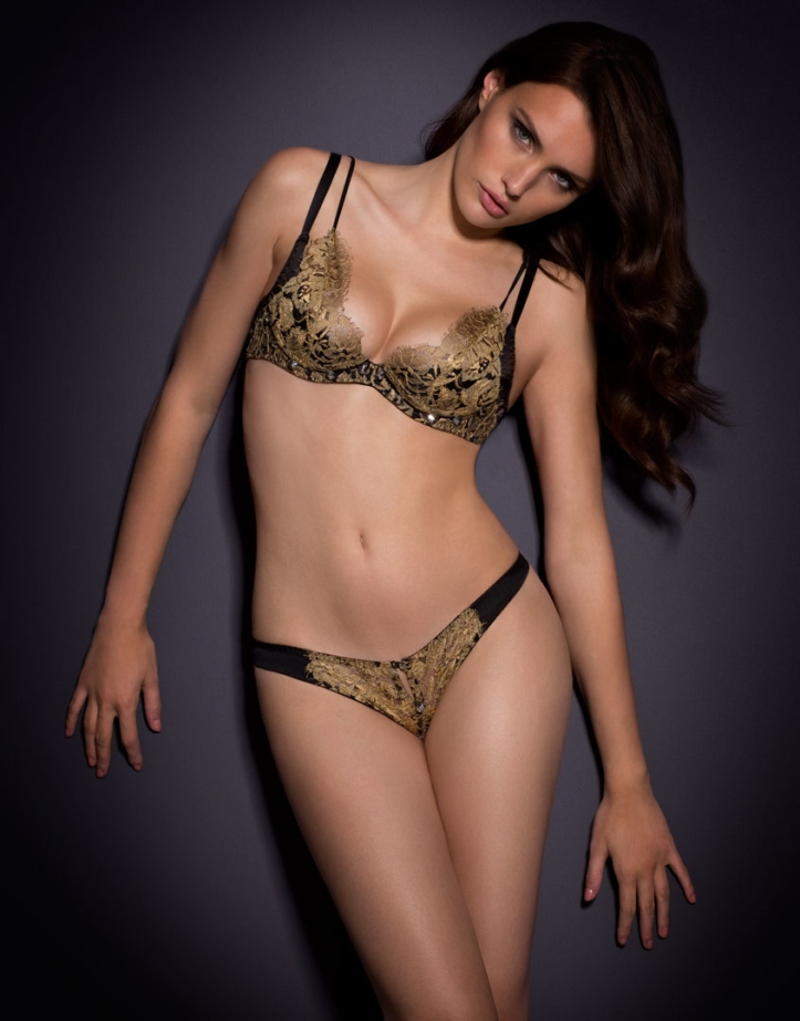 Elena Muller for Agent Provocateur Soiree 2015 (3)