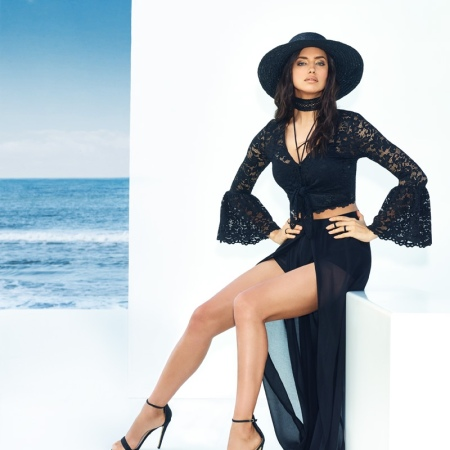 Irina Shayk for Bebe Summer 2016 Campaign Collections