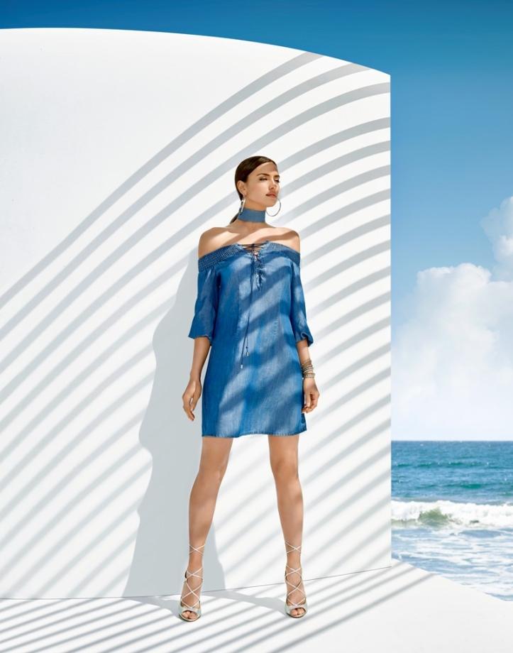 Irina Shayk Bebe Summer 2016 Campaign (6)