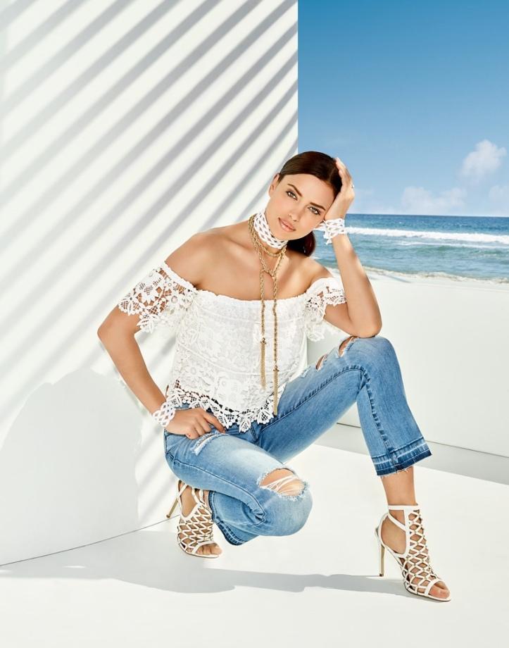 Irina Shayk Bebe Summer 2016 Campaign (7)