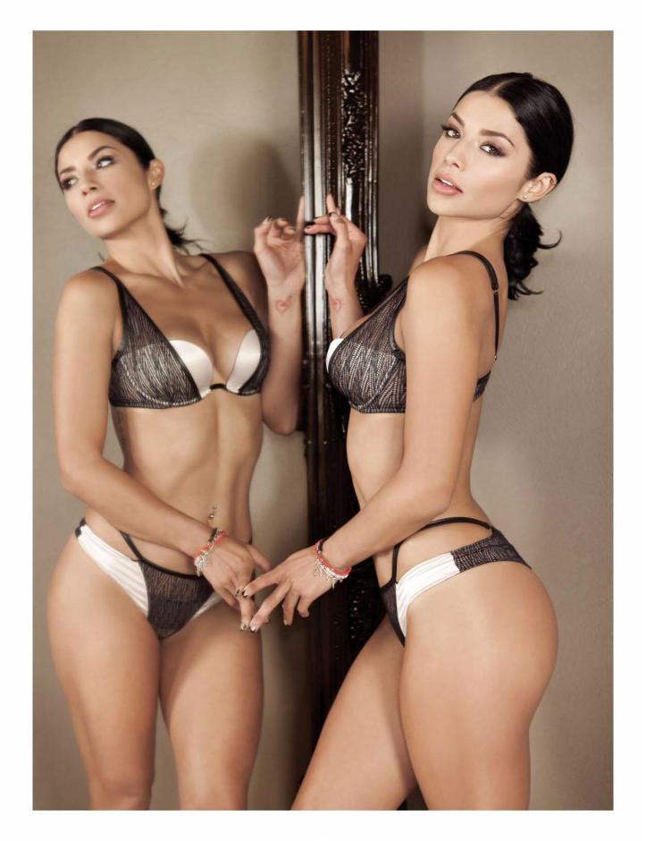 Maria Fernanda Quiroz for H para Hombres Mexico #204 May 2016 (3)