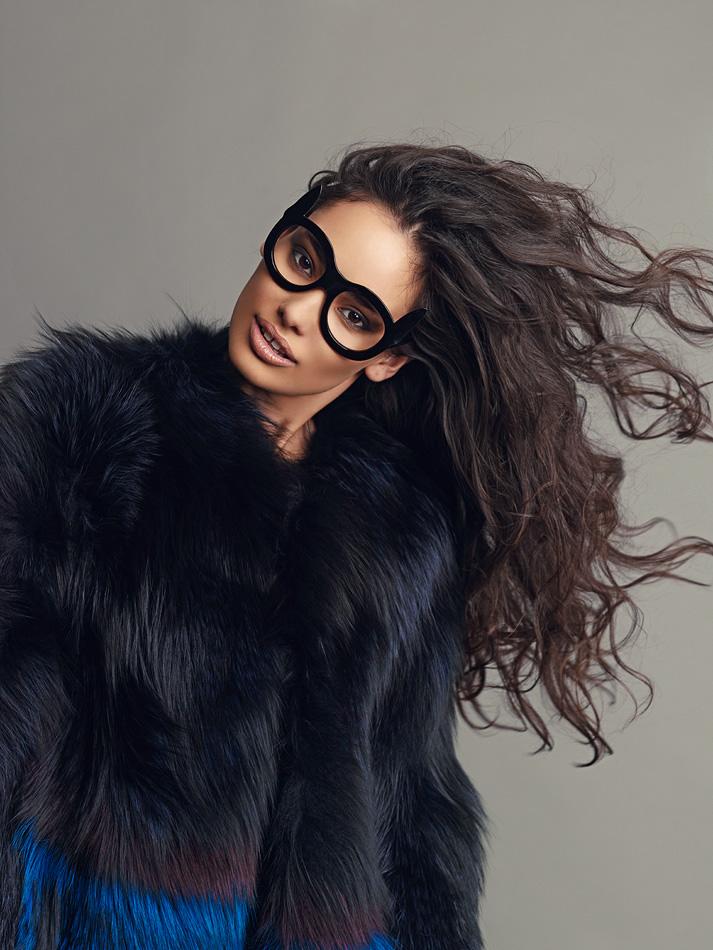 Natalia Rassadnikova by Igor Oussenko for In Fashion Magazine- The Bold and The Furry (12)