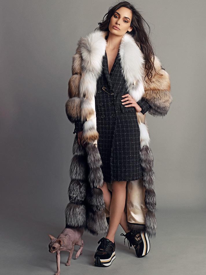 Natalia Rassadnikova by Igor Oussenko for In Fashion Magazine- The Bold and The Furry (6)