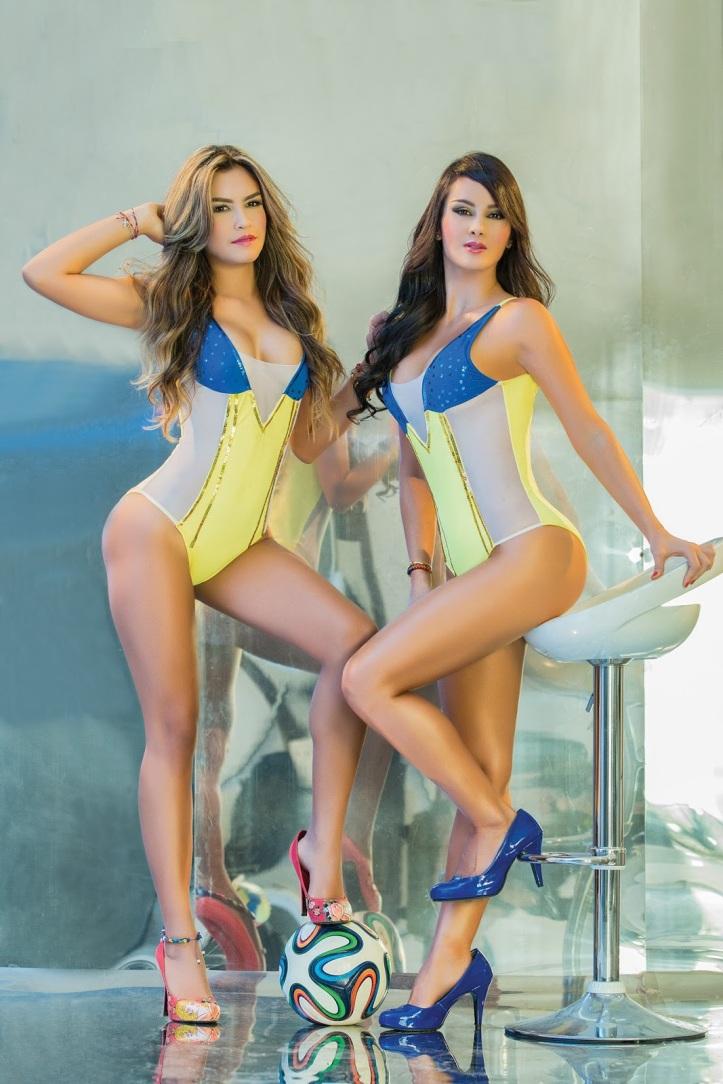 Eliana Franco and Veronica Velasquez  for World Cup Brazil 2014 (1)
