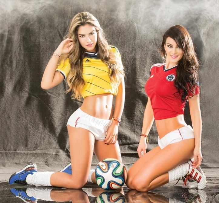 Eliana Franco and Veronica Velasquez  for World Cup Brazil 2014 (10)