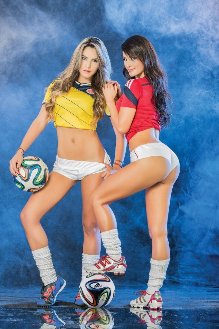Eliana Franco and Veronica Velasquez  for World Cup Brazil 2014 (4)