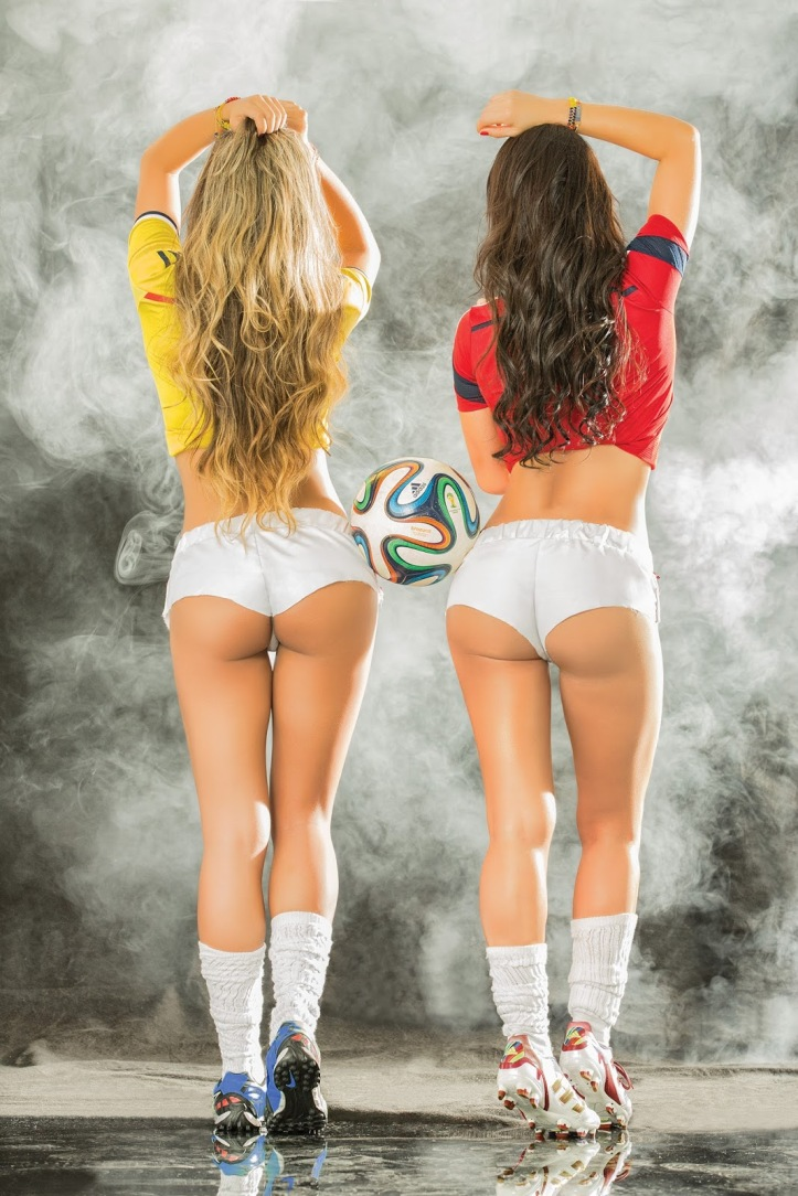 Eliana Franco and Veronica Velasquez  for World Cup Brazil 2014 (8)
