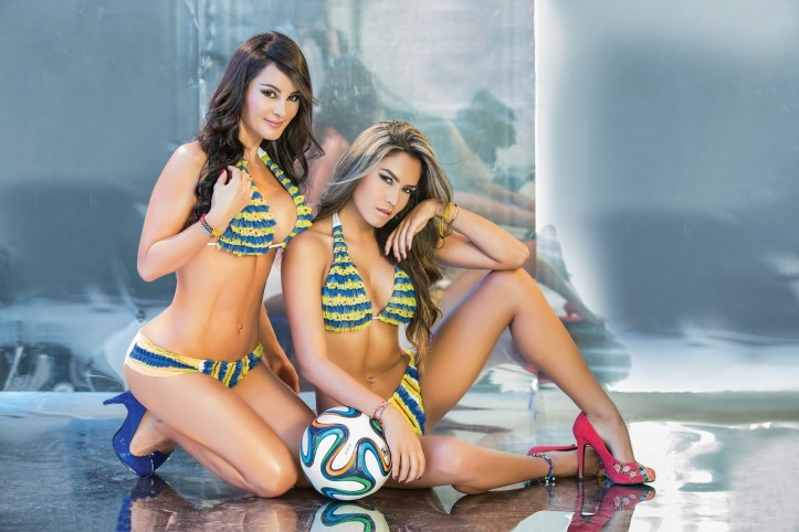 Eliana Franco and Veronica Velasquez  for World Cup Brazil 2014 (9)