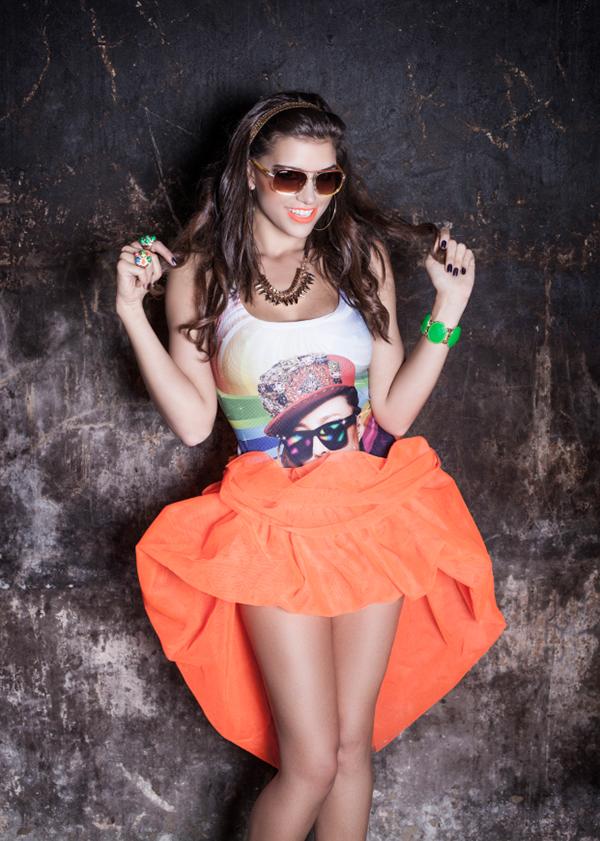 Fashion Model Mihaela Girbea Photo-shoot Collections  (6)