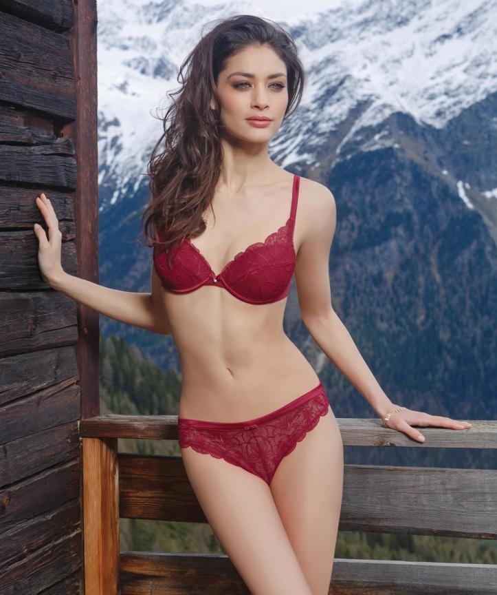 Florence Eugene for Incanto lingerie lookbook (Fall-Winter 2013) photo shoot