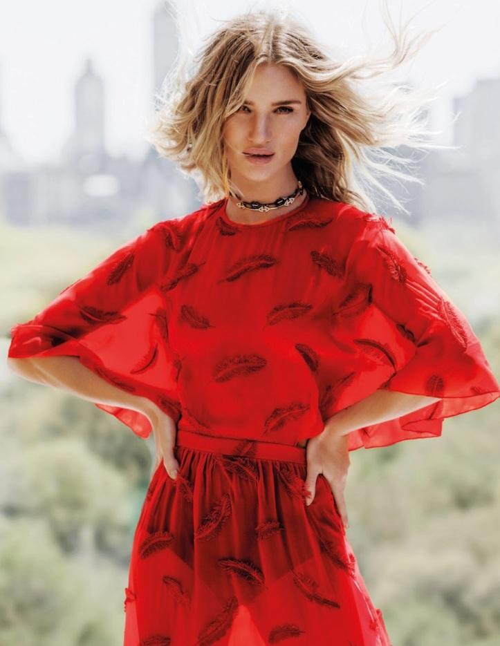 Rosie Huntington Whiteley – Vogue Thailand Magazine July 2016 (2)